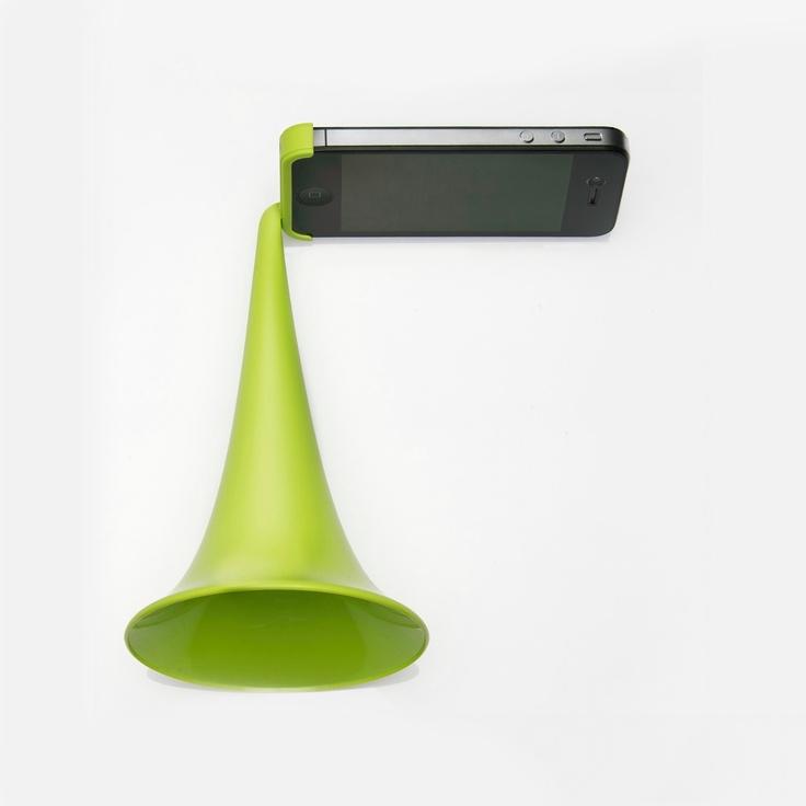classic megaphone speaker for iphone