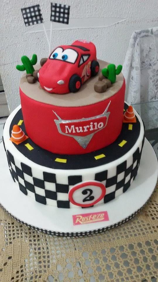 Bolo Relampago Macqueen  #cake #cars #Macquen #Carros