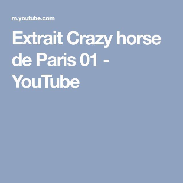 Extrait Crazy horse de Paris 01 - YouTube