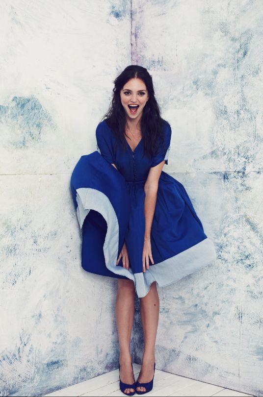perfect blue summer dress by Troubadour