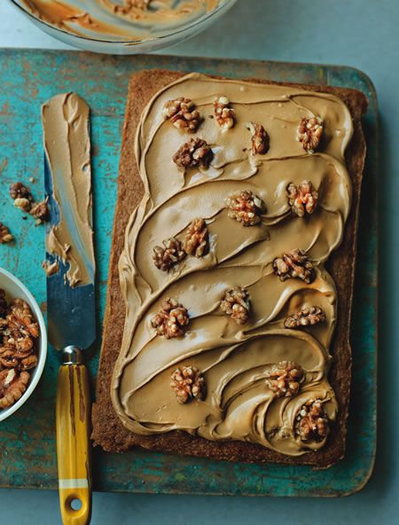 So pleased that Great British Bake Off's Jo Wheatley is supporting our charity event by donating a recipe for coffee and walnut traybake! #gbbo
