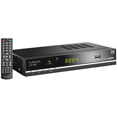 Turbo-X HD 1000 Επίγειος Ψηφιακός Δέκτης. Με θύρα HDMI για καλύτερη ευκρίνεια!