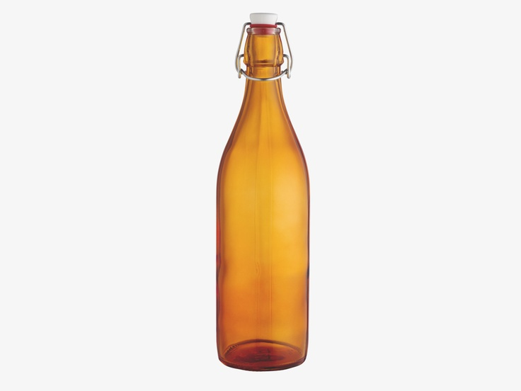 AMIA PINK Glass Glass bottle - Storage- HabitatUK