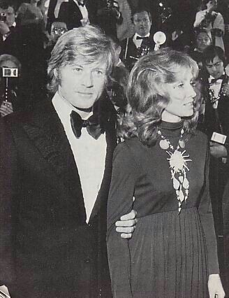 wheh did sibylle szaggars and robert redford start dating