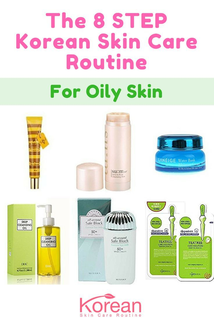 Best Korean Skin Care Routine For Oily Skin Works For Acne Prone Skin Oily Skin Care Korean Skincare Routine Skin Care