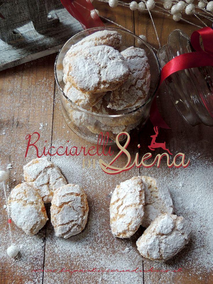 Ricciarelli di Siena, il gusto nella tradizione! Mandorle, Zucchero e tanta bontà in questi semplici biscotti, dolce tipico regionale Toscano!! Trovate la ricetta su: http://www.lapasticceriadichico.it/2014/12/ricciarelli-di-siena.html#more