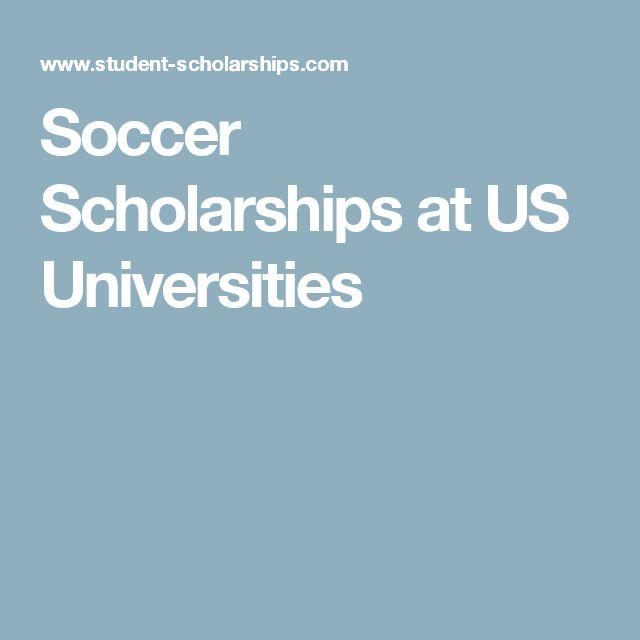 Soccer Scholarships at US Universities