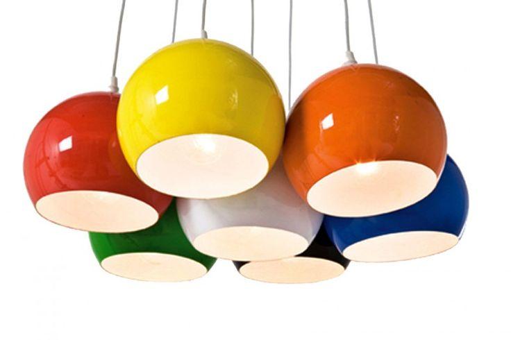 Mondri Bundel Hanglamp | Lampen - Retro verlichting | RETRO Design meubels, verlichting & cadeaushop, Vintage, Space Age