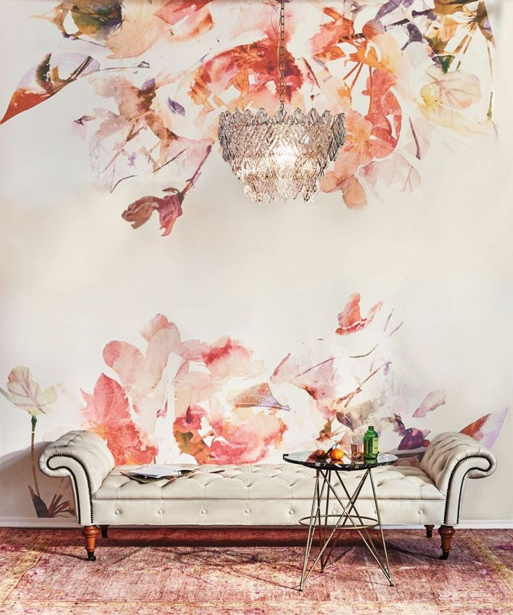 11 things we learned from the anthropologie catalog for Anthropologie wallpaper mural
