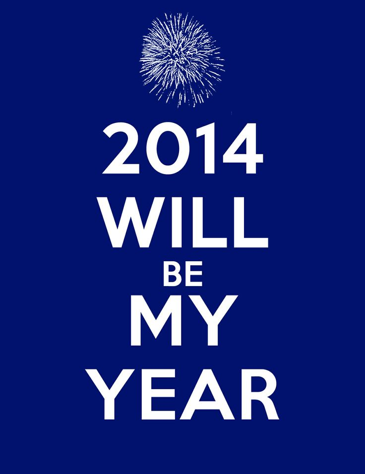 2014 will be my year! #silvester #newyear #2014