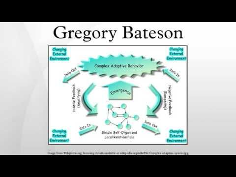 Audio Lecture on Gregory Bateson