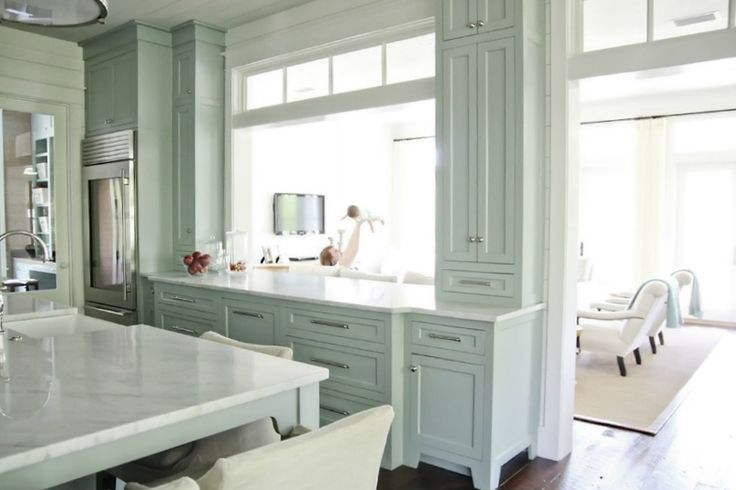painted kitchen cabinets via Isabella & Max Rooms: Now This Is A Kitchen!