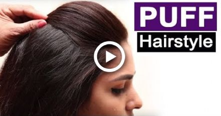 5 Easy Puff Hairstyles | Everyday Hairstyles Tutorials | Quick Hairstyles for Medium Thin