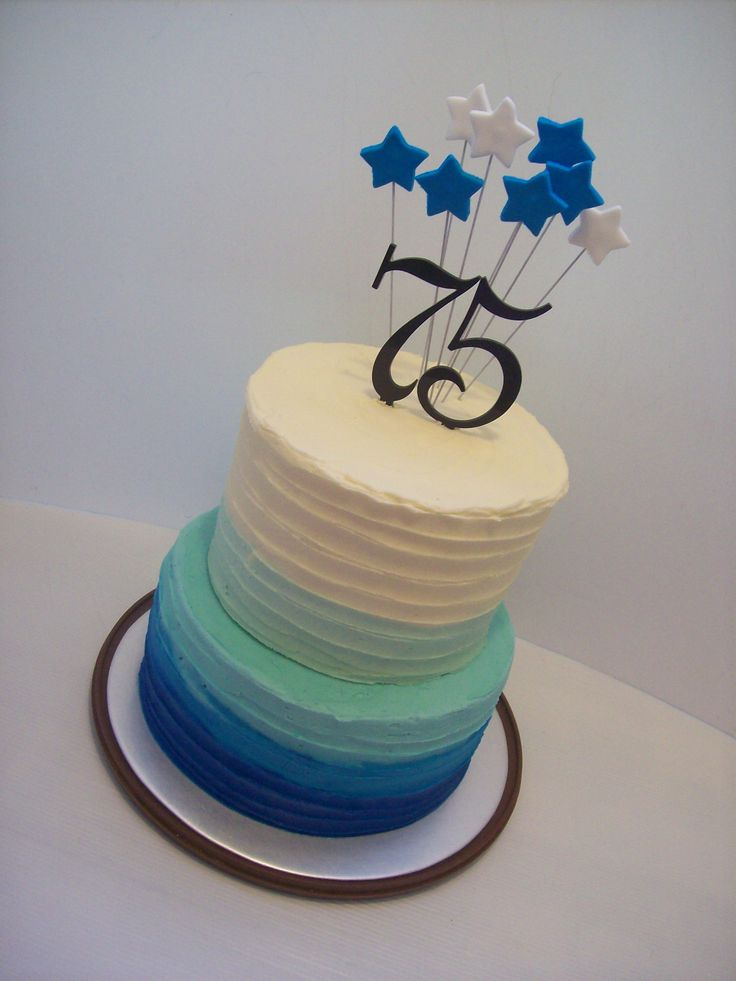 9 Best Images About 75 On Pinterest 50th Birthday Cakes