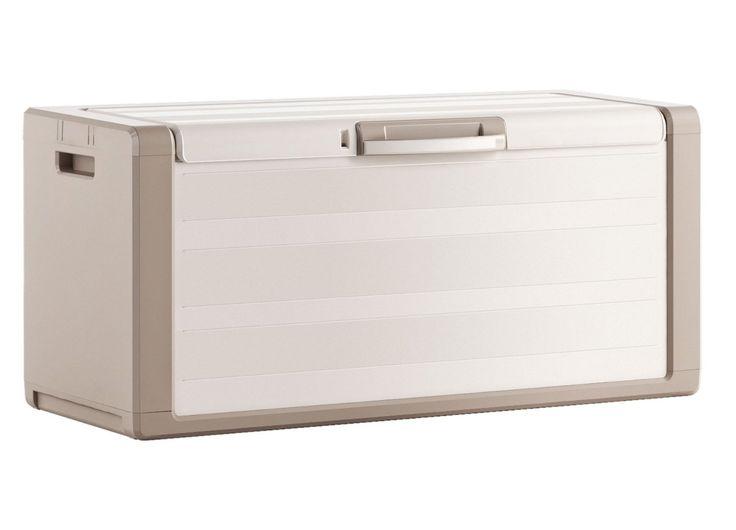 Gulliver chest - baule da esterno, ideale per riporre i cuscini del salottino della terrazza.