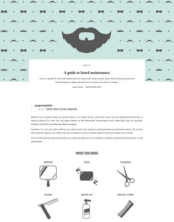 A guide to beard maintenance | UNIKSTORE Blog