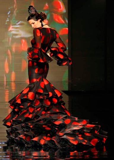 .Flamenca dress