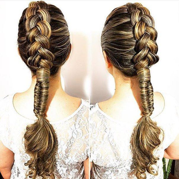 Dutch / infinity braid