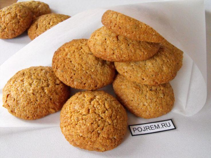 Овсяные печенья рецепт без муки на кефире