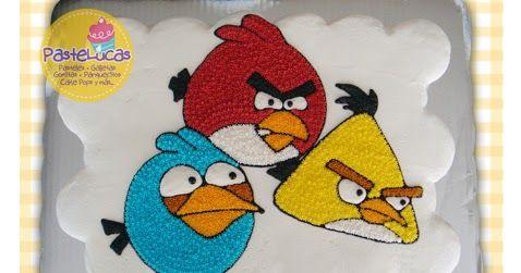 PasteLucas: Pastel de panquecitos Angry Birds