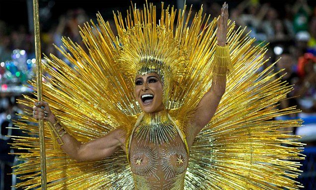 Rio carnival dancers sparkle in 'greatest show on Earth'