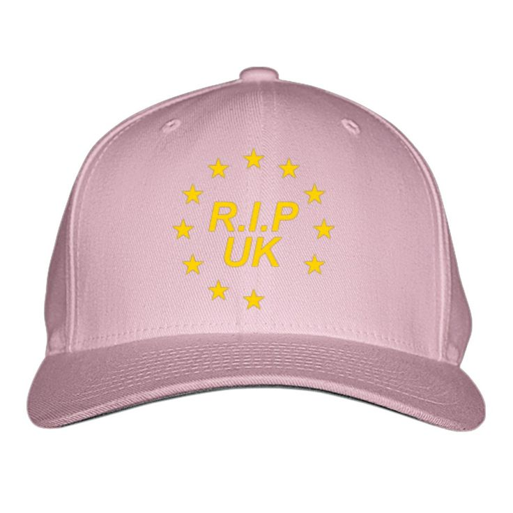 RIP UK Embroidered Baseball Cap