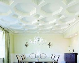 Ceiling may not be the first thing you notice when you enter any house but they do play a big role in overall appearance of the room.