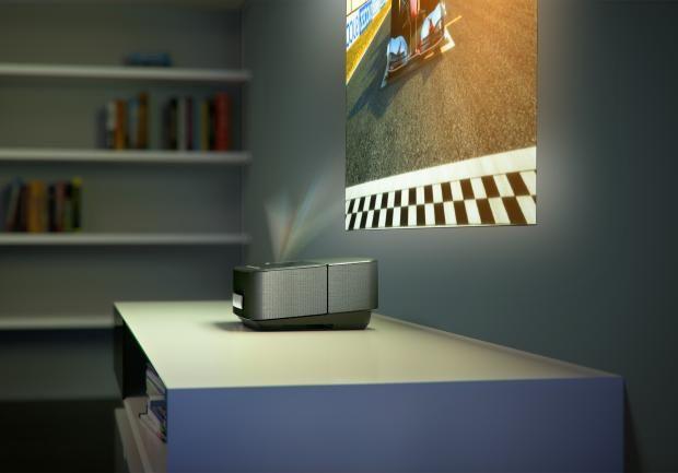 Sony 4K Ultra Short Throw Projector via @CNET