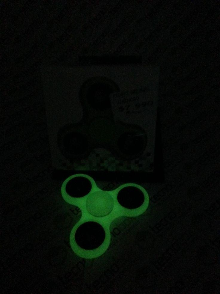 Fidget Spinner Luminoso 3 Puntas