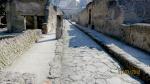 Roman road in Herculaneum