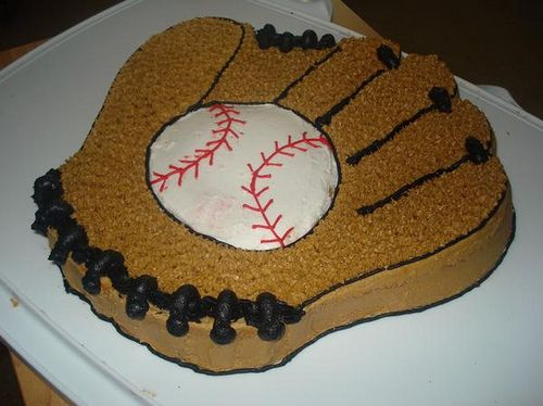 Baseball Glove Cake | by cakes by dania