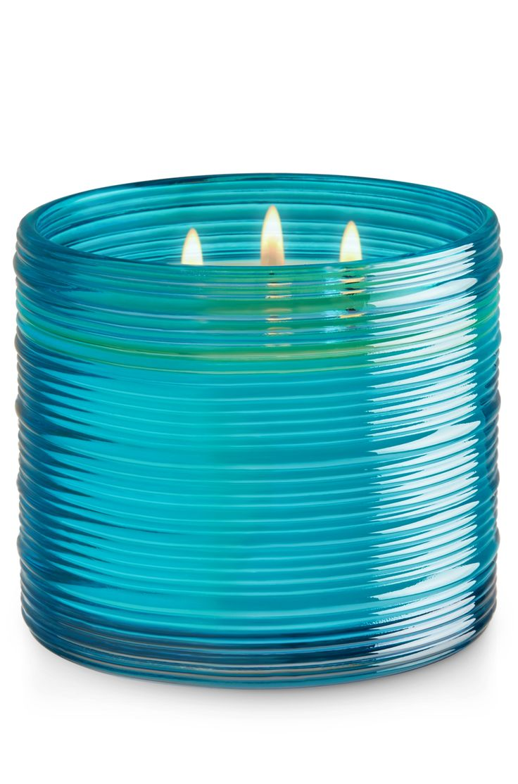 Blue Ocean Waves 3-Wick Candle - Home Fragrance 1037181 - Bath & Body Works