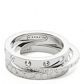 Must have - Coach Stackable Rings