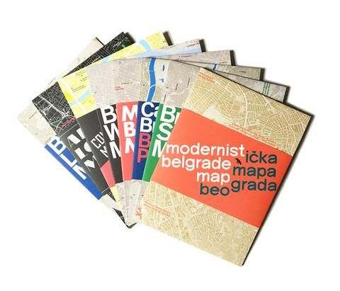 Our complete set of architecture maps to date. Including Modernist Belgrade Map, Brutalist Sydney Map,...