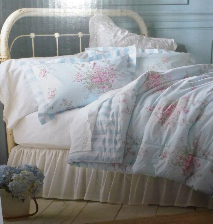 32 best images about sheets shabby chic sheets bedding for Shabby chic bedspreads comforters