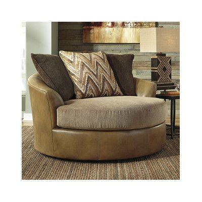 Swivel Barrel Arm Chair From Wayfair Canada Style