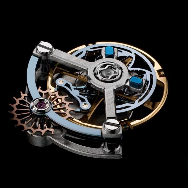 Ulysse Nardin the new Ulysse Anchor Escapement There's been the flying tourbillon and now there's the flying anchor. The revolutionary new escapement, based on flexible mechanisms using the elasticity of materials, does away with the pallet staff (See more at En/Fr: http://watchmobile7.com/articles/ulysse-nardin-new-ulysse-anchor-escapement) #watches #montres #ulyssenardin