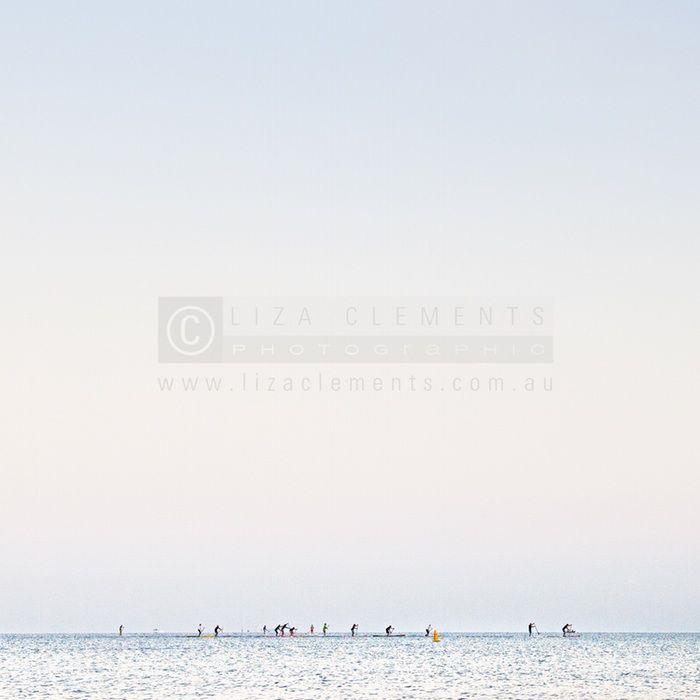 Morning Paddle, Half Moon Bay