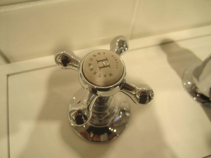 waterworks highgate faucet closeup lach powder faucet
