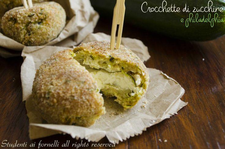 Crocchette+di+zucchine+e+philadelphia