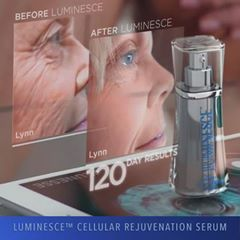 Luminesce Cellular Rejuvenation Serum permanently removes wrinkles, scars, dark spots and more!