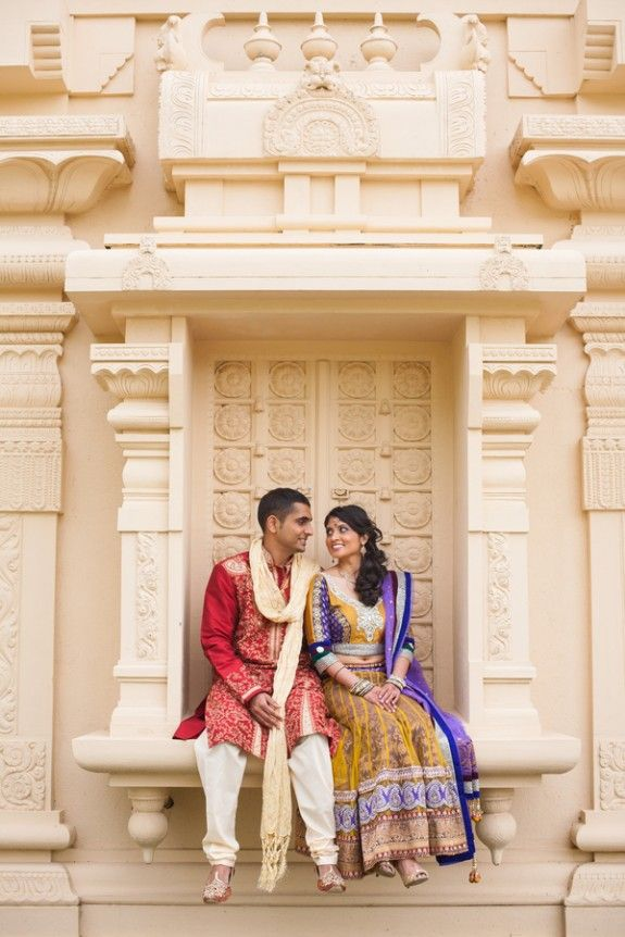 indian temple engagement