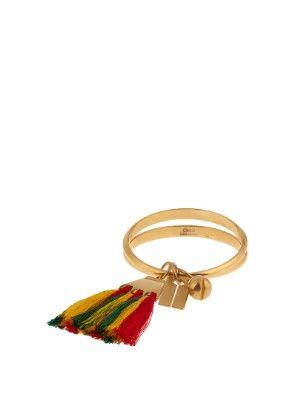 Janis tassel-charm cuff | Chlo? | MATCHESFASHION.COM