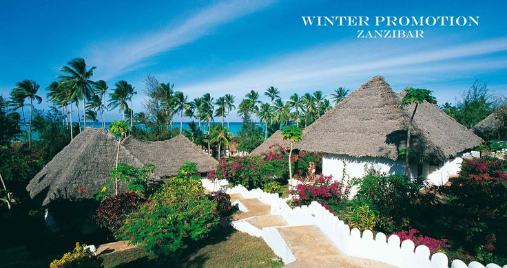 What is winter for you? For us is a sunny day in Zanzibar!