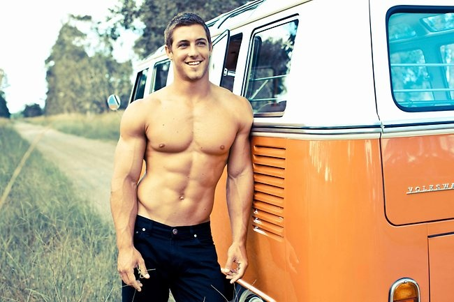 Kayne Lawton - 2012 Cleo Bachelor of the Year Top 50 Portraits...