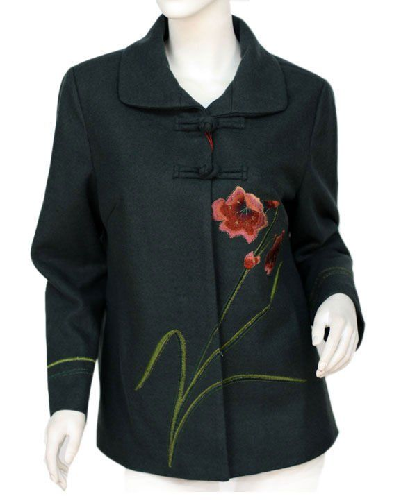 embroidered clothing | korean style women winter embroidery clothes