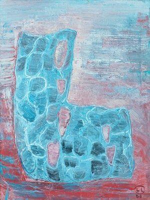 Sommitelma/Oil on canvas 1998 by Leena Luostarinen