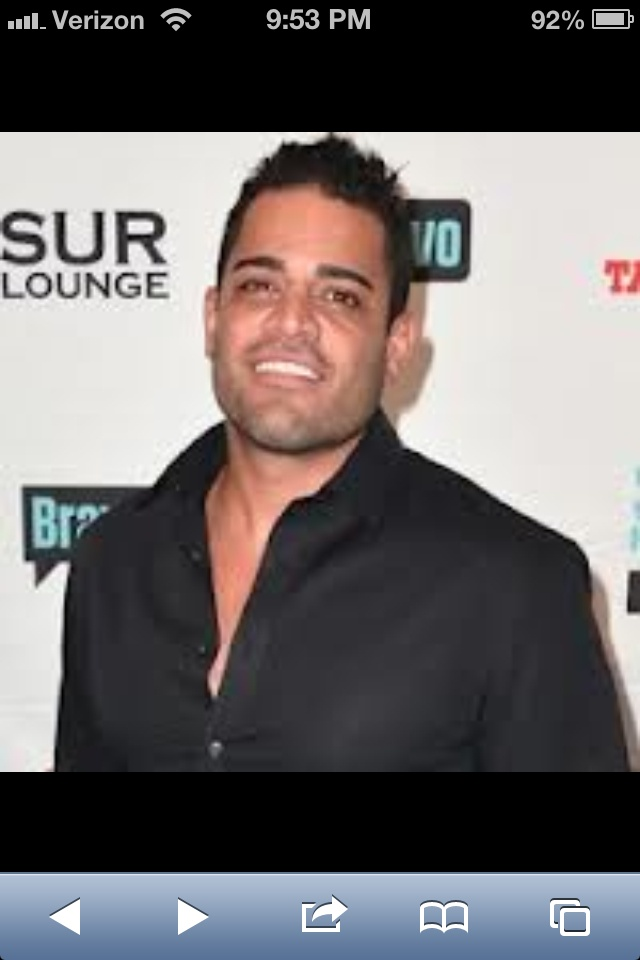 Mike - shahs of sunset. Yuuummmm!! So obsessed with this show!!