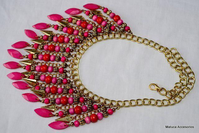 Collar Cherry de Matuca accesorios en Accesorios  Collares - Me Gusta Tutti