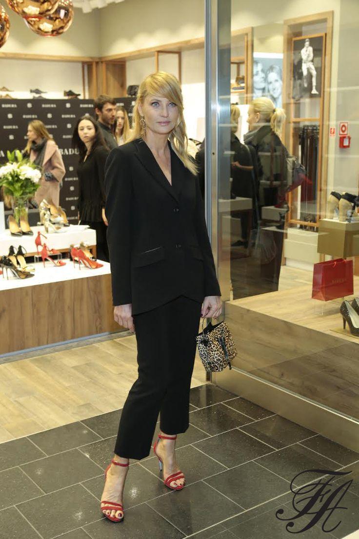 Aneta Kręglicka #style #fashion #model #polishbrand #suit #ss17 #spring #black #badura #laf